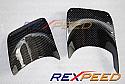 Rexpeed Carbon Heat Shield Mitsubishi Evolution X 2008-14