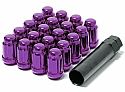 Muteki Classic Lug Nuts Short Closed End - Purple -