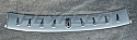 Rexpeed Vortex Generator-Silver Mitsubishi Evolution VIII & IX 2003-07