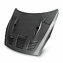Seibon  GTII-style DRY CARBON hood for 2009-2016 Nissan GTR