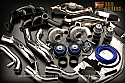 GReddy TD06SH-20G Twin Turbo Kit Nissan GT-R 2009-17