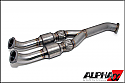 AMS Alpha 90mm Catted Midpipe R35 GT-R 2009-15