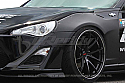 GReddy X Rocket Bunny 86 Aero, Ver.1 -Front-Over-Fenders - ONLY - Scion FR-S 2013-15