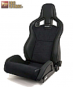 Recaro Sportster CS Seat- Vinyl Black and Dinamica Suede