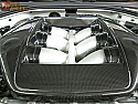 TiTek Carbon Fiber Engine Cover - Gloss - Nissan GT-R 2009-17