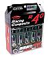 KICS R40 Neo Chrome Locking Lug Nuts