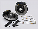 AP Racing 6-Piston Front Drilled/Slotted RT Big Brake Kit Nissan 370Z 2009-15