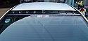 Rexpeed Vortex Generator-OEM Black Mitsubishi Evolution VIII & IX 2003-07