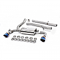 Milltek Sport Cat Back Exhaust Ford Focus RS 2016 - 2017