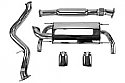 X-Force Catless Header Back Exhaust- Subaru BRZ / Scion FR-S 2013-16