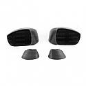 Seibon Carbon fiber mirror covers for 2009-2010 Nissan GTR