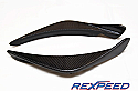 Rexpeed RA-Style Carbon Canards Mitsubishi Evolution VIII 2003-05