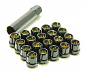 Muteki Classic Lug Nuts Short Open End - Black -