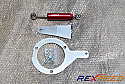 Rexpeed Silver's Engine Damper-Red Mitsubishi Evolution VIII & IX 2003-07
