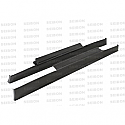 Seibon SS-style carbon fiber side skirts for 2009-2012 Nissan GTR