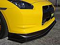 JUN Carbon Fiber Front Lip Spoiler Nissan GT-R 2009-16