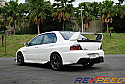 Rexpeed Type-2 Carbon Fiber Trunk Spoiler Mitsubishi Evolution VIII & IX 2003-07