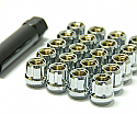 Muteki Classic Lug Nuts Short Open End - Chrome -