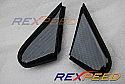 Rexpeed Carbon Fiber J-Panels Mitsubishi Evolution X 2008-14