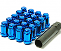 Muteki Classic Lug Nuts Short Closed End - Blue -