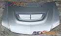 Rexpeed Fiberglass Bonnet Vent Mitsubishi Evolution VIII & IX 2003-07