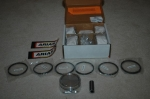 Arias Forged Piston Set 8.5:1 .020 Overbore Nissan 350Z 2003-2006