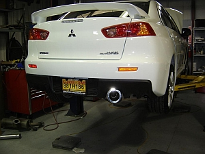 "AMS Racing Series 3"" Catback Exhaust Mitsubishi Evolution X"