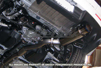 GReddy Racing Ti-C Catback Exhaust Mitsubishi Evolution X