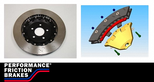 Performance Friction Rear Rotors Nissan GT-R 2009-11