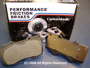Performance Friction Rear Brake Pads Nissan GT-R 2009-17