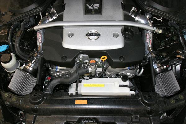 AEM Dual Short Ram Intake Nissan 350z 2007-2008