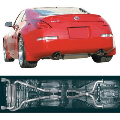 Stillen Dual Exhaust System Nissan 350Z 2003-2008