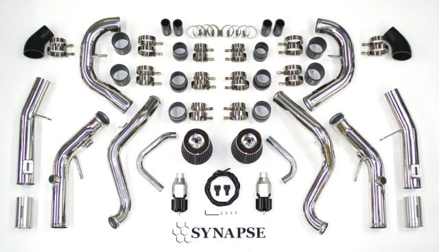 Synapse Engineering Intercooler Piping Kit Upgrade Nissan GT-R 2009-11