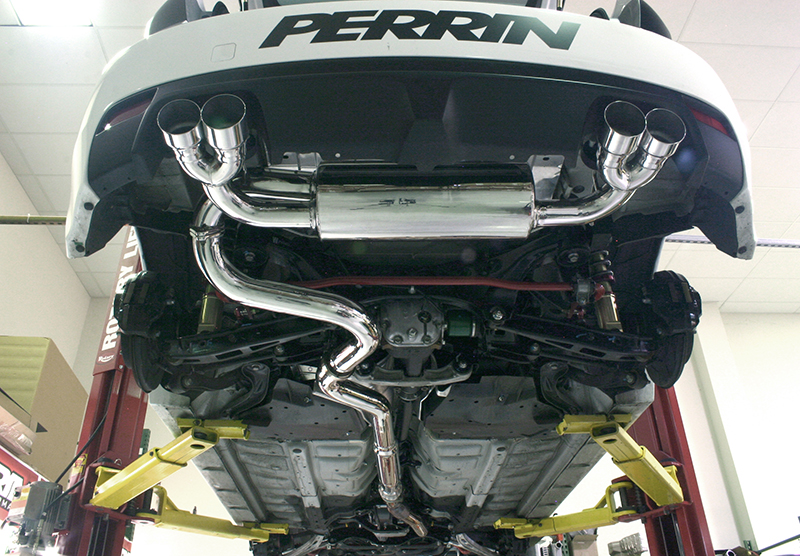 Perrin Catback Exhaust System Hatch Subaru Wrx 201114 Sti 200814: 2008 Subaru Impreza Exhaust System At Woreks.co