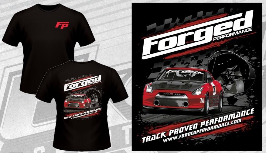 Forged Performance MadScientist Drag GTR Shirt