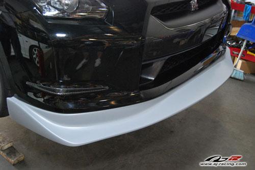 AJRC FRP Front Lip Nissan GT-R 2009-16