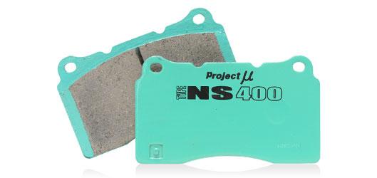 Project Mu Brake Pads NS400 -Front- Infiniti G37 2009-13