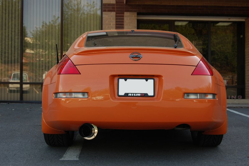 AAM Competition Single Exit Exhaust System Nissan 350Z 2003-2008