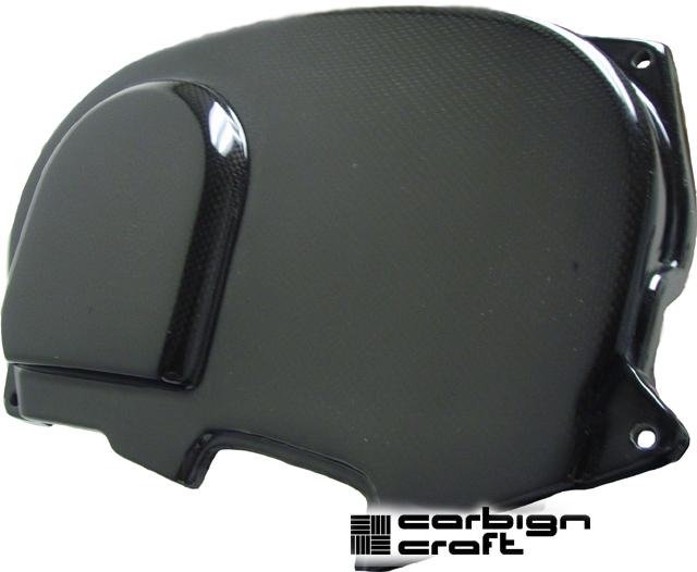 Carbign Craft Carbon Fiber Camshaft Gear Cover Mitsubishi Evolution VIII & IX