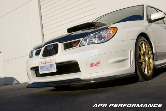 APR Performance Carbon Fiber Air Dam Subaru STi 2008-14