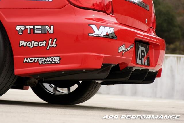APR Performance FRP Rear Diffuser Subaru WRX 2002-07 & STi 2004-07