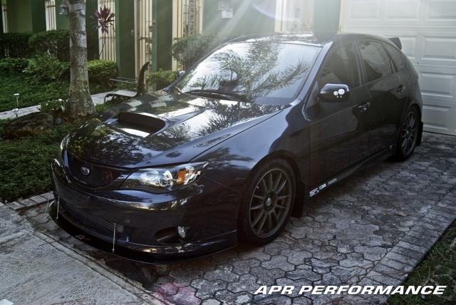 APR Front Wind Splitter Subaru WRX & STi 2011