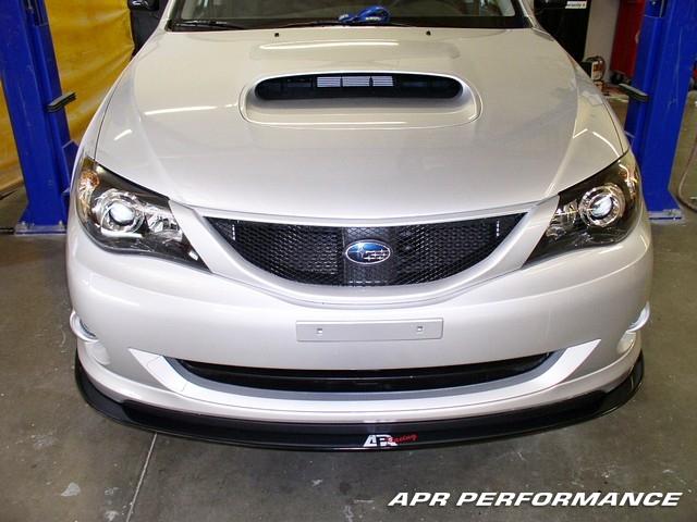 APR Front Wind Splitter Subaru WRX 2008-10
