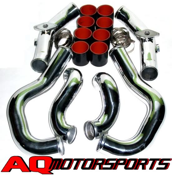 AQ Motorsports (aka Harmon Motive) Intercooler Piping Nissan GT-R 2009-17