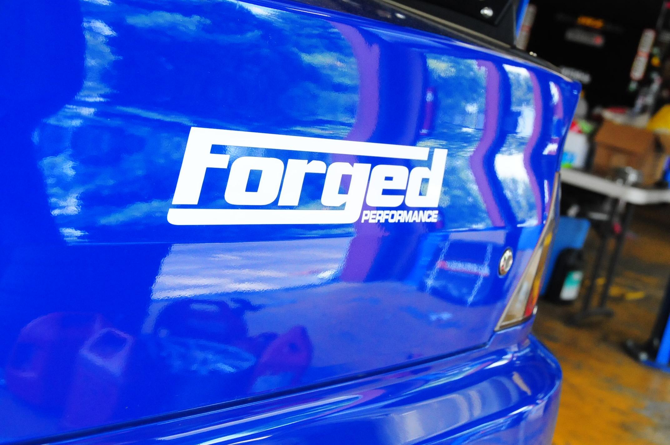 Forged Performance Medium Size Sticker