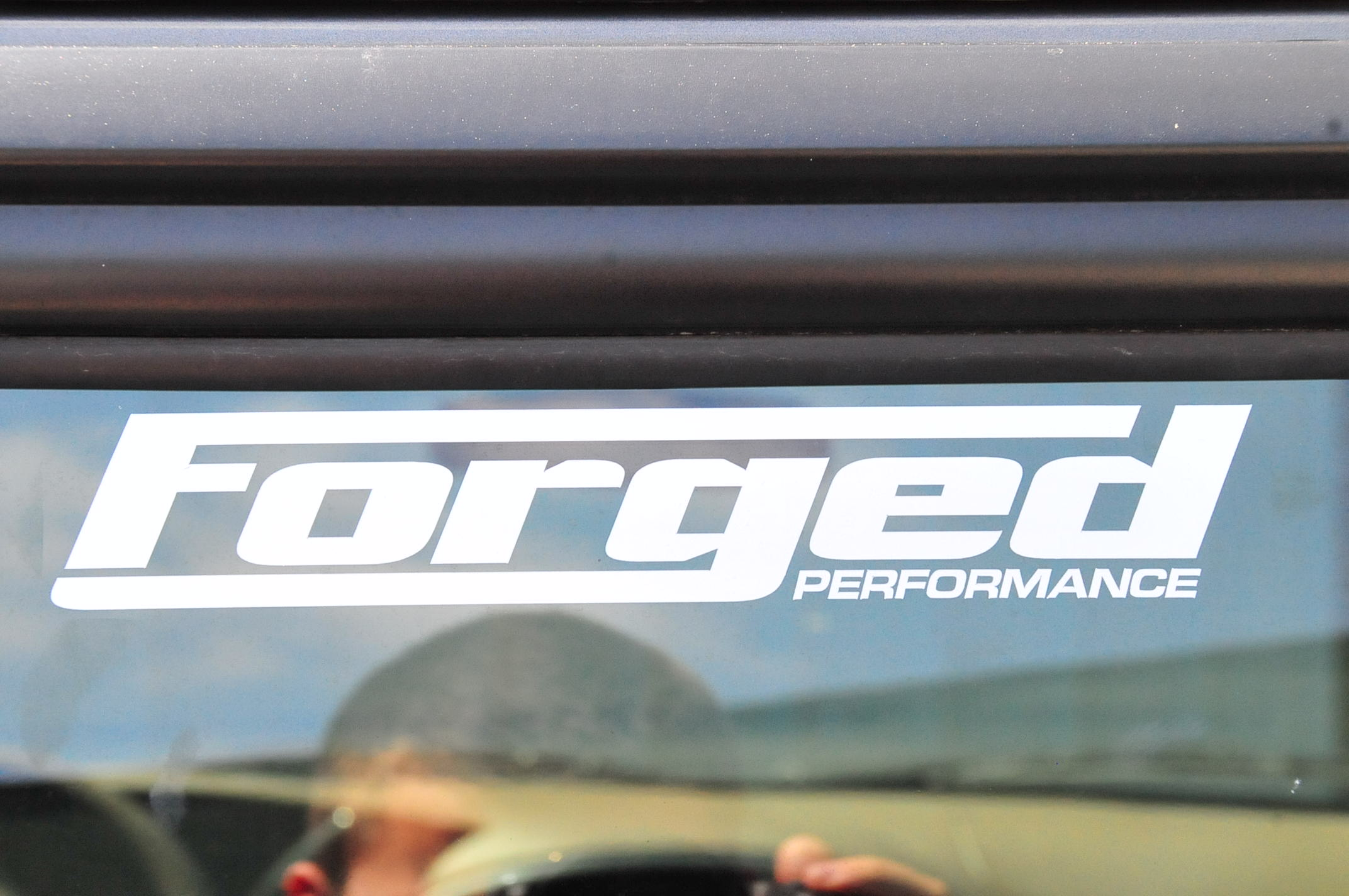 Forged Performance Small Size Sticker