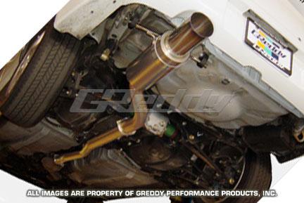 GReddy Racing Ti Catback Exhaust Subaru WRX 2002-07 & STi 2004-07