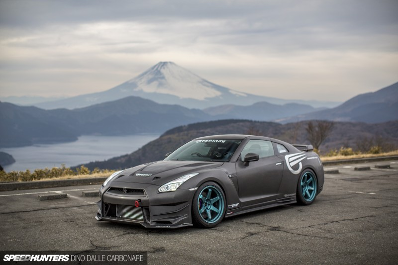 Overtake Carbon Front Face Kit Nissan GT-R 2008-16