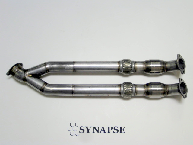 Synapse Engineering Mid Pipe with Two Catalytic Converters Nissan GT-R 2009-17