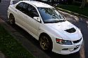 Rexpeed Ganador Style Mirror LHD Mitsubishi Evolution VIII & IX 2003-07